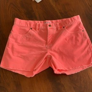 Woman's corduroy shorts